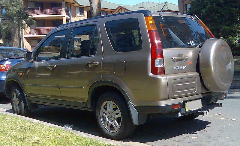 Honda CRV SUV 2002 Mar to Jan 2007 Towbar - McCabe - The ...