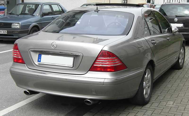 Mercedes S Class W220 1999 to Jan 2006 Towbar - McCabe - The Towbar People