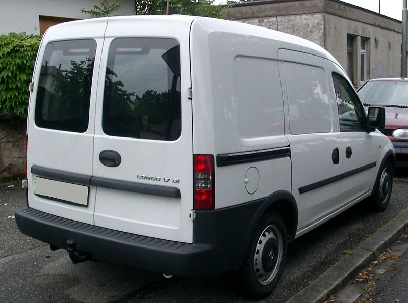 opel combo van 2001 dec to mar 2012 towbar mccabe the towbar people. Black Bedroom Furniture Sets. Home Design Ideas