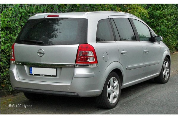 opel zafira mpv 2007 onwards towbar mccabe the towbar people. Black Bedroom Furniture Sets. Home Design Ideas