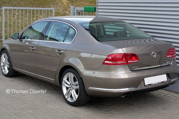 Vw Passat B7 Saloon 2010 Nov To Dec 2014 Towbar Mccabe