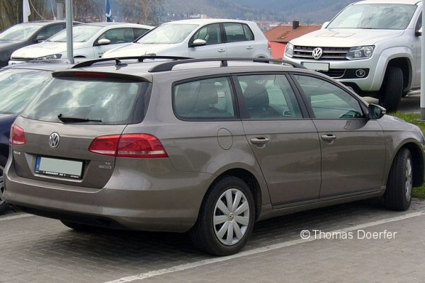 Vw Passat B7 Estate 2010 Nov To Dec 2014 Roof Rack System