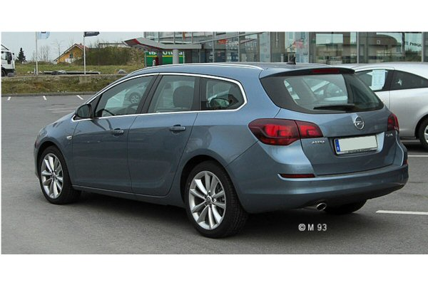 Opel Astra Estate 2007 To 2011 Towbar Mccabe The
