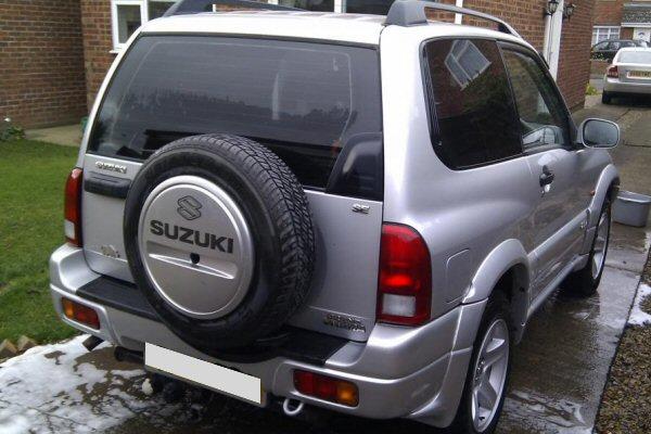 Suzuki Grand Vitara 3 Door 1998 to Oct 2005 Towbar ...