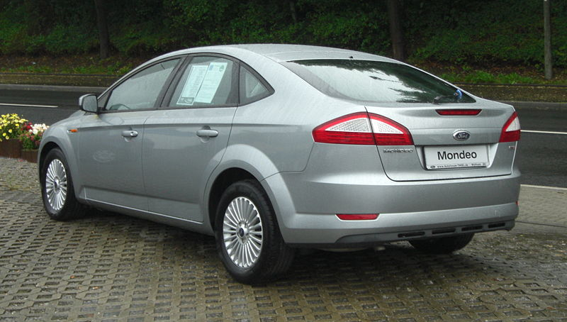Ford Mondeo Hatch 2007 Jun To 2011 Towbar Mccabe The