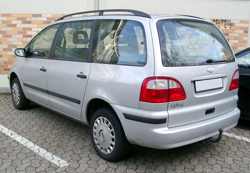 Ford Galaxy 1996 Mar To Jun 2006 Towbar Mccabe The