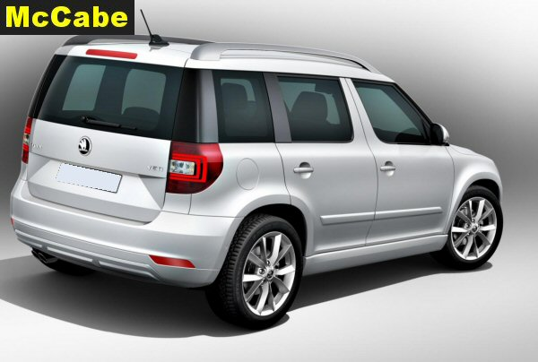 skoda yeti 2014 mar onwards towbar mccabe the towbar people. Black Bedroom Furniture Sets. Home Design Ideas