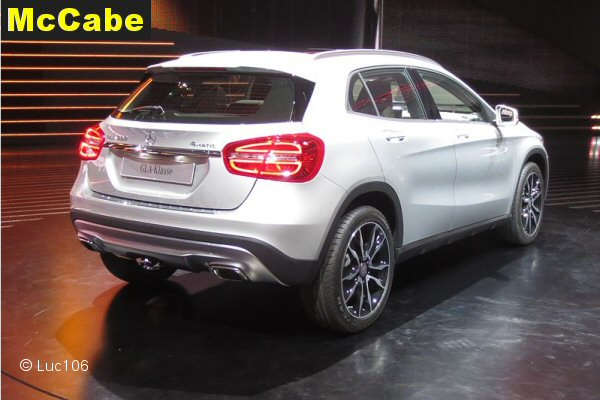 Mercedes Gla 2014 May Onwards Towbar Mccabe The Towbar