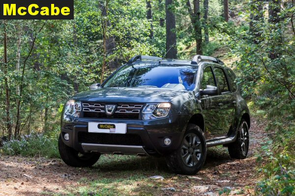 Dacia Duster 2015 Jan Onwards Roof Rack System Mccabe The Towbar People