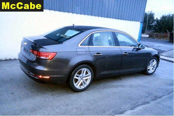 Audi a4 b9 saloon jan 2016 onwards towbar mccabe the for Mercedes benz b9 service