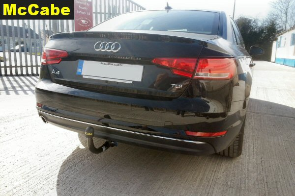 Audi A4 B9 Saloon Jan 2016 Onwards Towbar Mccabe The