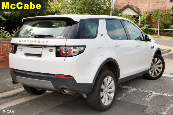 Land Rover Discovery Sport 2016 Jan Onwards Without Rails