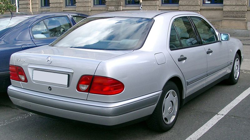 W210 Saloon 1996 Jan to Jul 2002