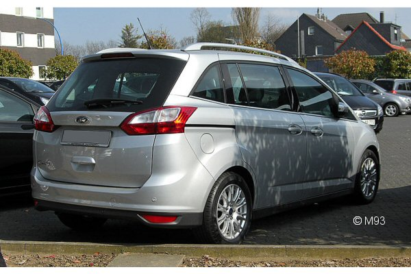 Ford C-Max Grand C-Max 2010 onwards Roof Rack System ...