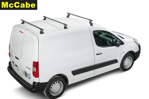 d43261150dfddd Peugeot Partner LWB Van 2008 Jul onwards Roof Rack System - McCabe ...