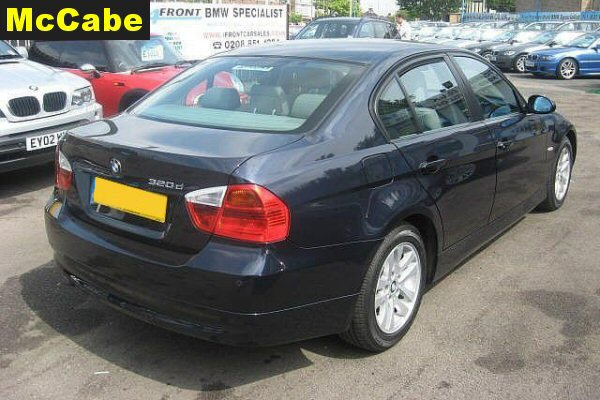 Bmw 3 Series E90 Saloon 2005 Apr To Feb 2012 Roof Rack System
