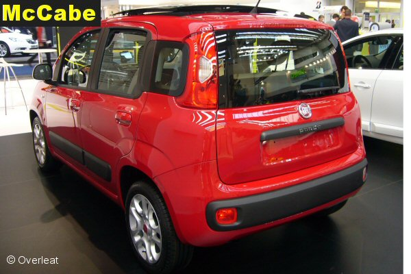 Fiat Panda 2012 Onwards Towbar Not 4 215 4 Mccabe The