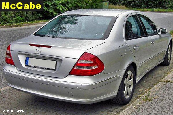 W211 Saloon 2002 to Jun 2009