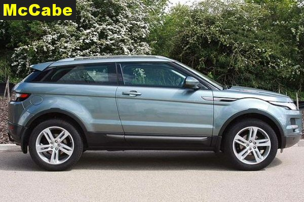 Land Rover Evoque 3 Dr 2012 onwards Roof Rack System